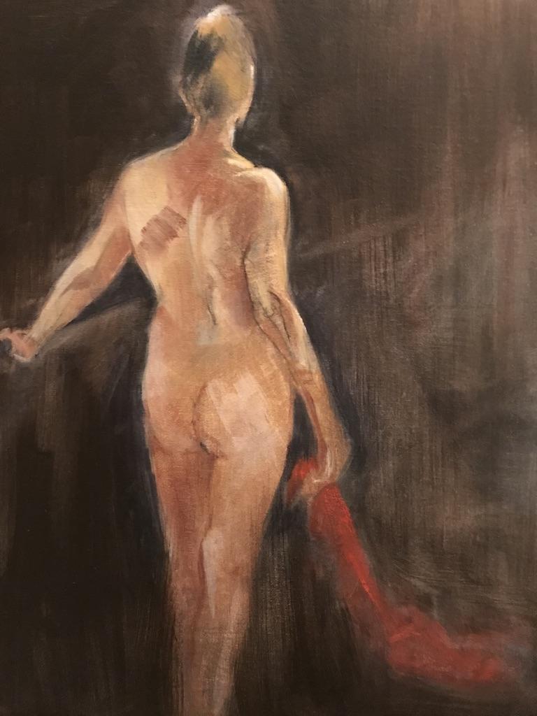 Alexandra Davies - The Landing - Oil