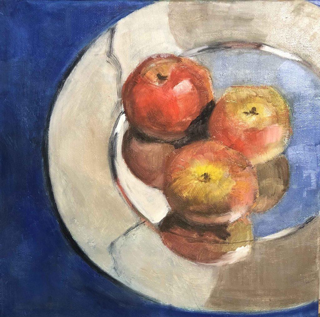 Eliza Parker - Fruit on a Plate