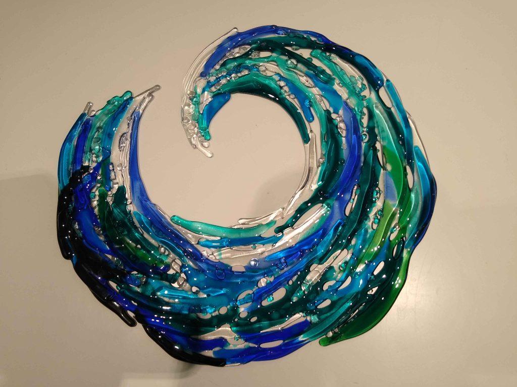 Geraldine McLoughlin - New Wave - Glass