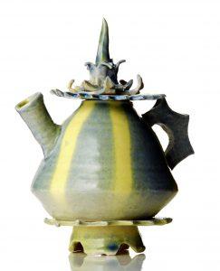 Jane Gibson - Yellow Teapot - Ceramic