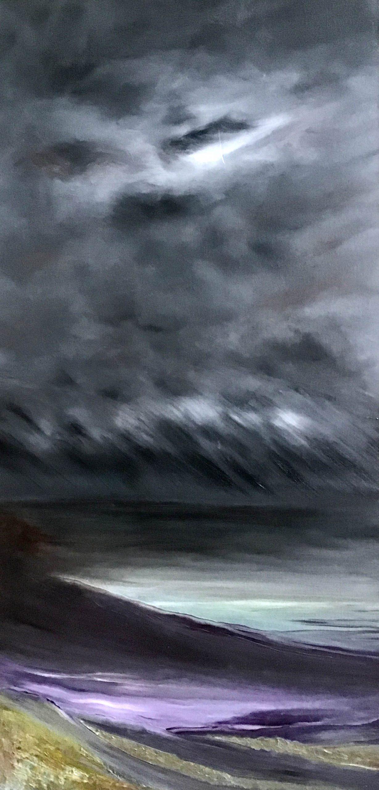 Lizbeth Spurgeon - Storm - Oil on Canvas
