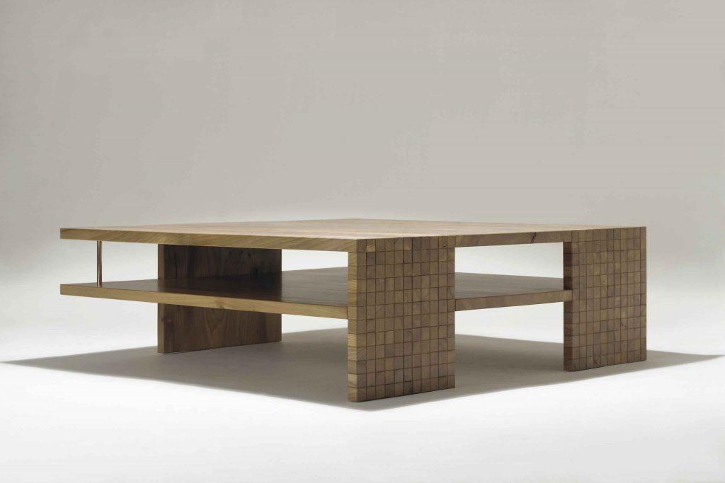 Matthew Burt - Slip Slide Low Table - Elm