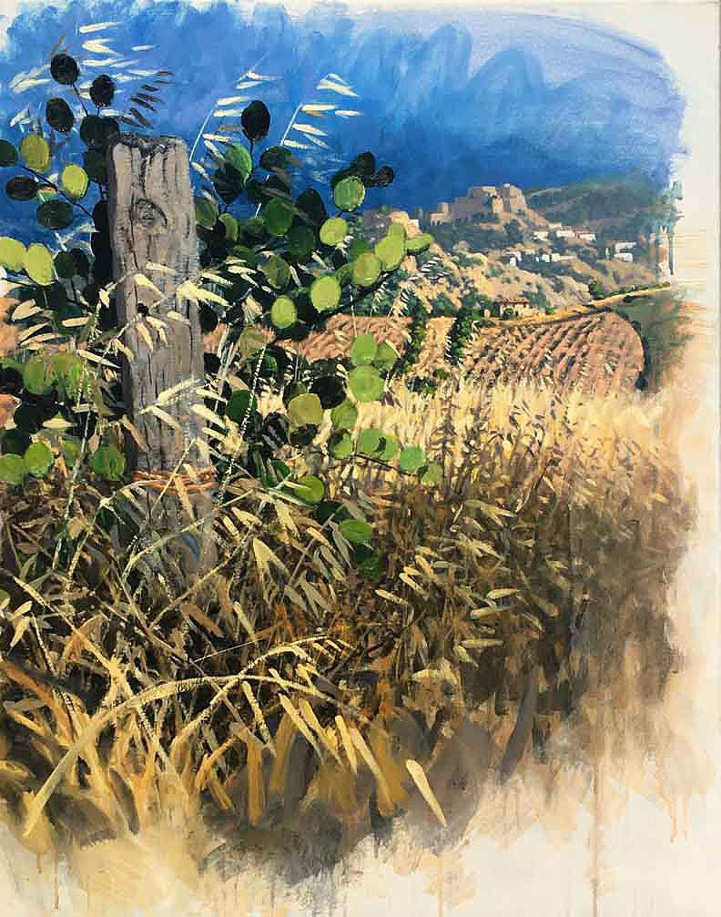 Robert O'Rorke - Nova Siri - Acrylic on Canvas