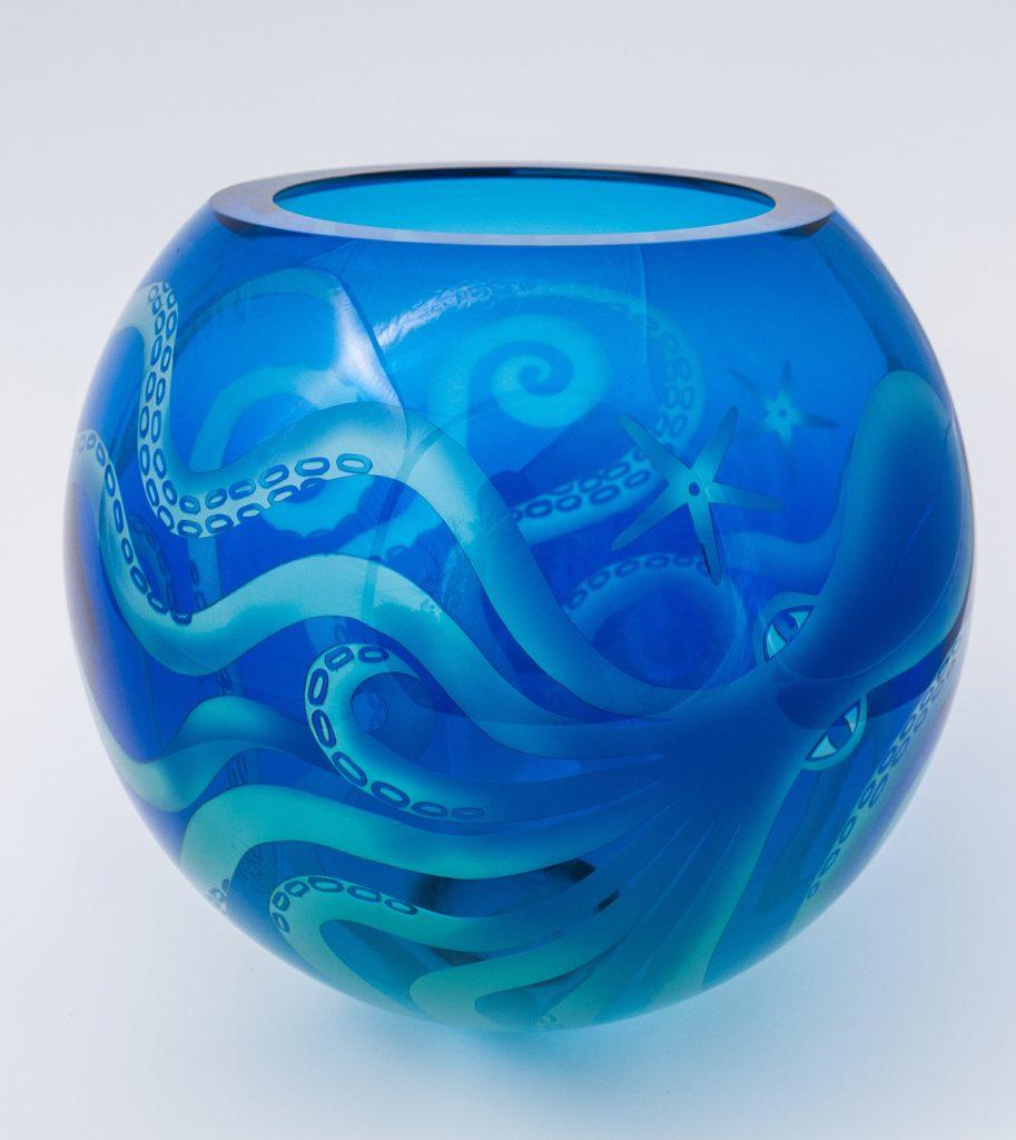 Ruth Dresman - Octopus - Glass