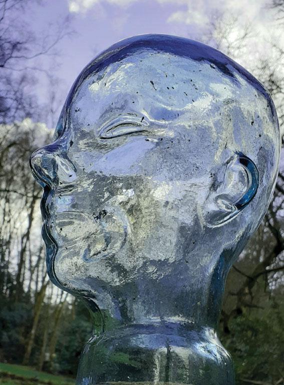 Spencer Nugent - Head - Glass