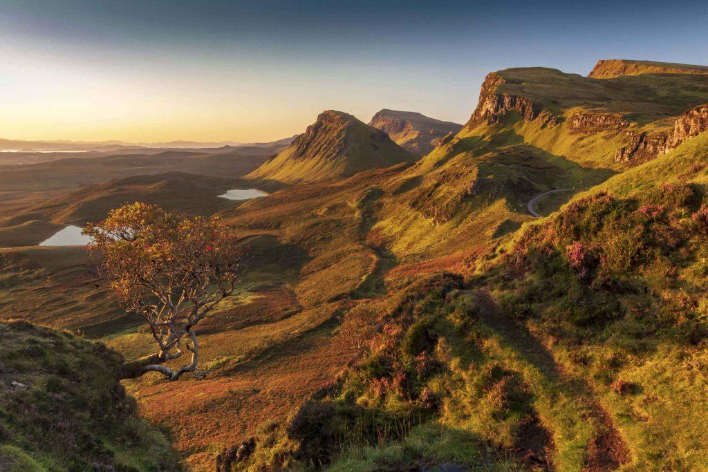 Steve Gunter - Sunrise on the Quiraing, Isle of Skye - Photograph
