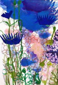 Susanna Lisle - 'Centaurea'