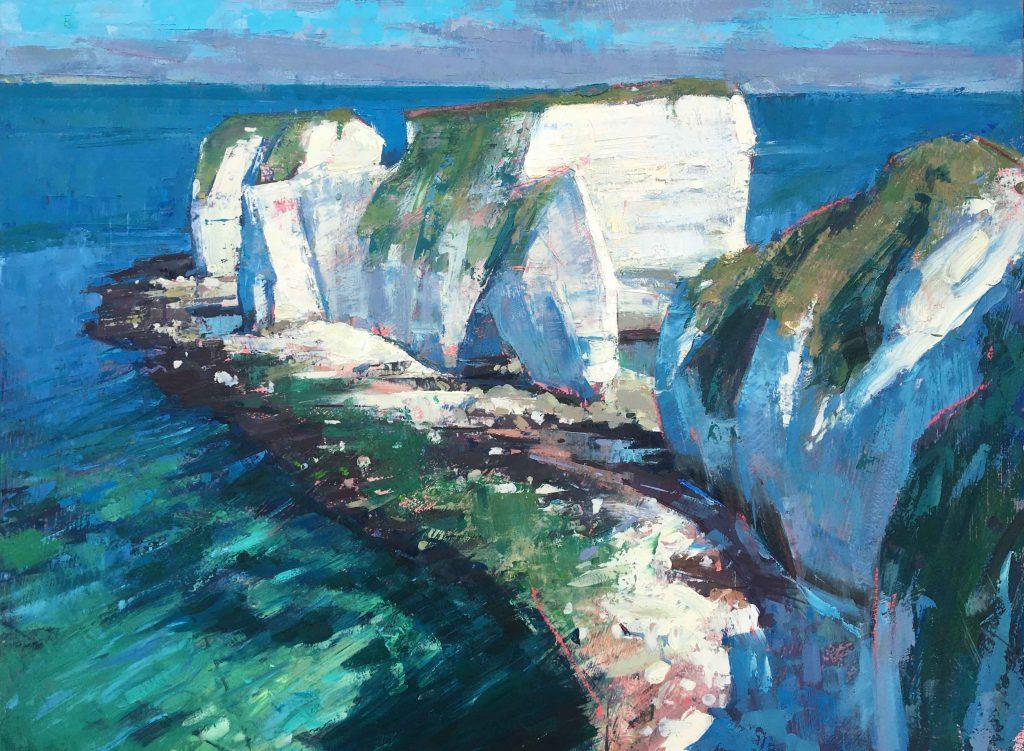 Thomas Hoar - Dorset Coast - Oil