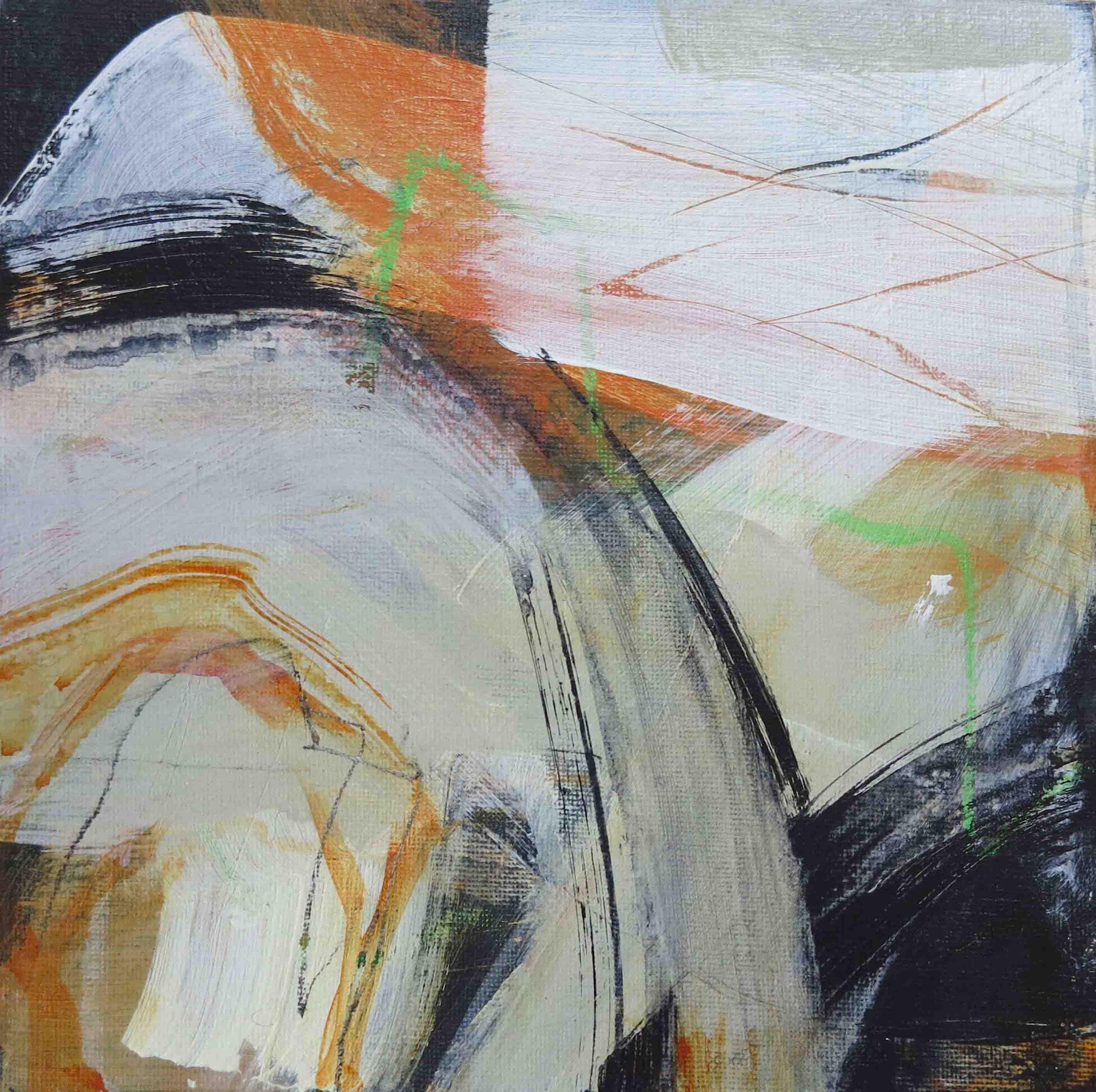 Tonia Gunstone - Abstract 9 - Mixed Media on Canvas Board