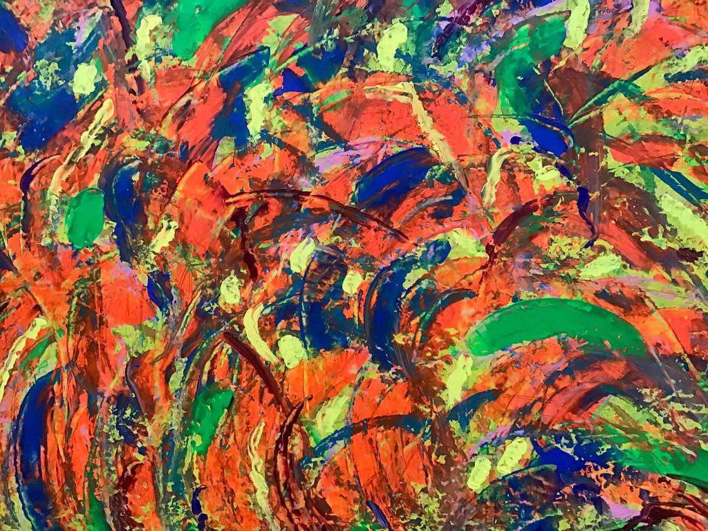 Ursula Buston - Boomerang - Acrylic on Canvas