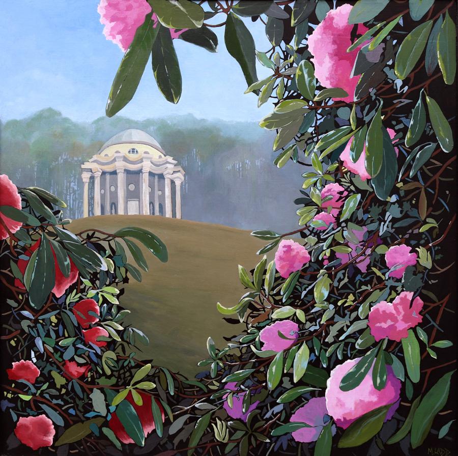 Moira Ladd - Apollo's View Stourhead - Acrylic