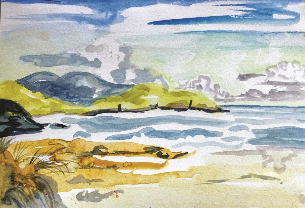 Tessa Farrington - Beach